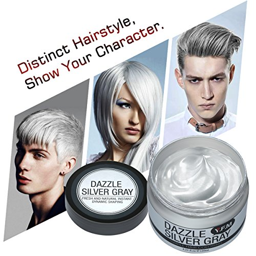 Great gray hair wax