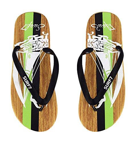 Men's Couture Green ABS132 1037 Black Sandal Peach 1024 B8qdwB5