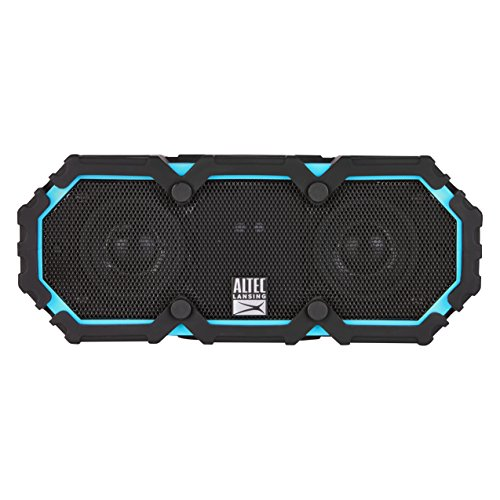 Lansing Iphone Altec (Altec Lansing IMW477 Mini Life Jacket 2 Waterproof Bluetooth Speaker, Blue/Black)