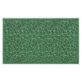 Polypropylene face and commercial rubber backing | Fall Day 32-Inch x 56-Inch Door Mat by Weather Guard (LIGHT GREEN)