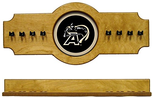 - NCAA Army Black Knights ARMCRR200-O 2 pc Hanging Wall Pool Cue Stick Holder Rack - Oak
