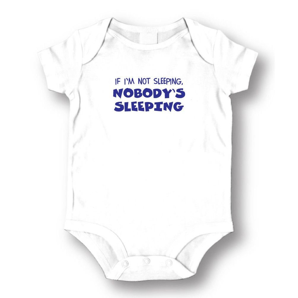 Dustin clothing series If I'm Not Sleeping Nobody's Sleeping Baby Boys Girls Toddlers Romper 0-24M