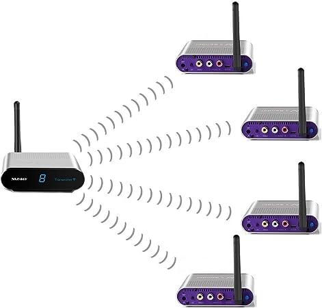 Measy Av540 4 5 8ghz Wireless Av Transmitter And Elektronik