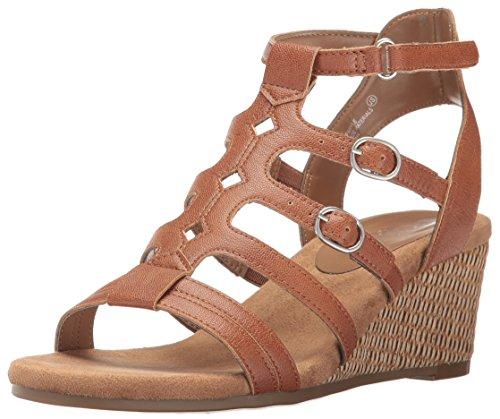 Aerosoles Womens Sparkle Wedge Sandal