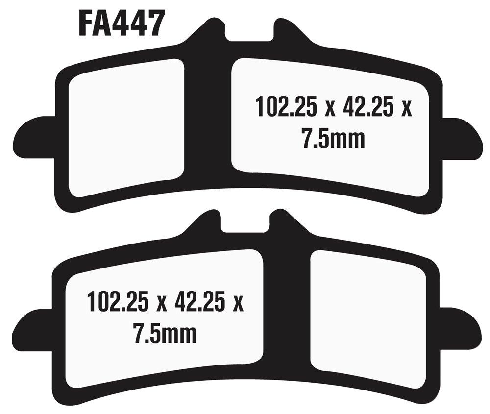 EBC Brakes EBPCK1009 Complete Double-H Sintered Brake Pad Change Kit