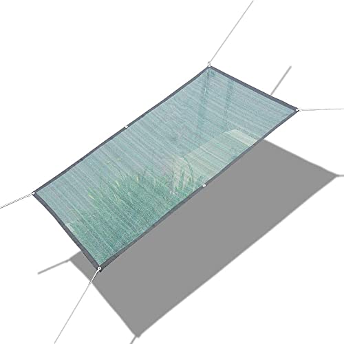 Alion Home 75 Sunblock Sun Shade Plant Cover UV Resistant Durable Shade Net Panel for Garden, Greenhouse, Flower, Barn, Kennel, Fence – Green 6 x 50