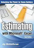 Estimating with Microsoft Excel, 3rd Edition, Jay Christofferson, 086718647X