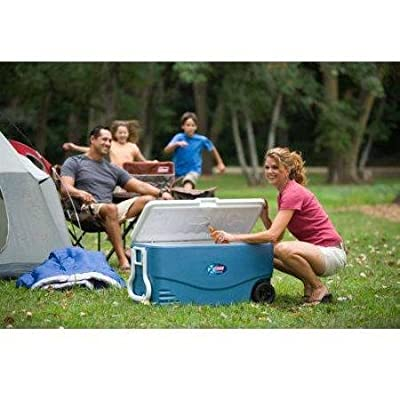 Coleman 100-Qt. Wheeled Cooler Holds 130 Cans