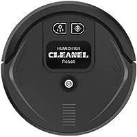 WJS 50ml Household Multifunctional 2 In 1 Mobile Vacuum Cleaner Air Humidifier Ground Sprayer-Black