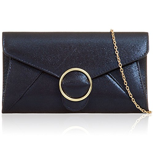 Pochette Xardi femme Bleu Marine pour London R5qTH8