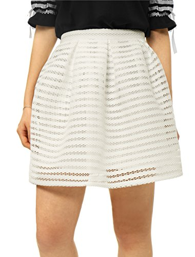 Flare Fully Lined Skirt - 1