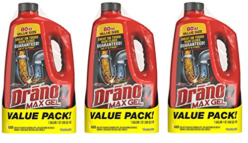 Drano Max Gel Clog Remover, 160 OZ (Pack - ()