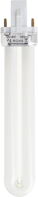 DynaTrap 21050 Indoor Insect Trap, DT3039 AtraktaGlo 9-Watt UV Bulb for FlyLight Models DT3009, DT3019, 600 Square Feet, Plain