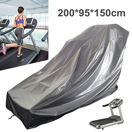 dDanke Treadmill Cover, Sports Running Machine Protective Folding Cover Dustproof Waterproof Cover, for Outside Weather Rain & Sunshine Resistance 78.74''x37.40''x59.06'' by dDanke (Image #1)