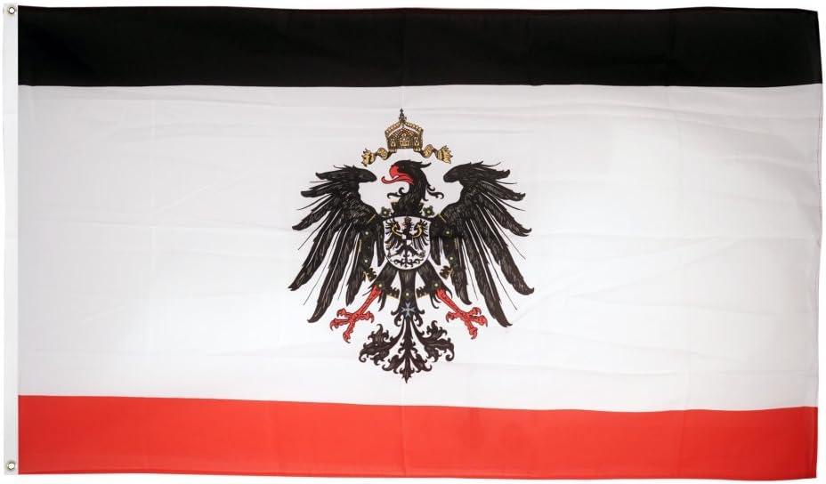Fahne Deutsches Reich Kaiserreich Hissflagge 90 x 150 cm Flagge