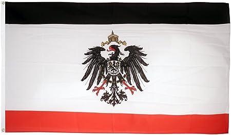 Flagge Deutsches Reich Kaiserreich 1871 1918 90 X 150 Cm Amazon