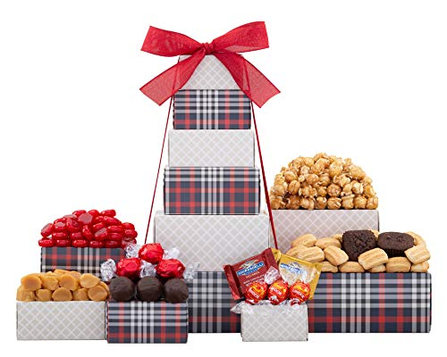 Wine Country Gift Baskets Chocolate & Cookie Tower