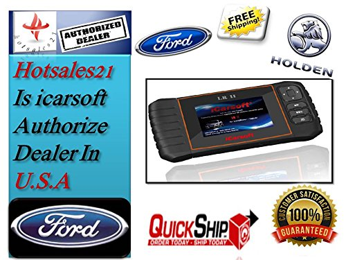 Price comparison product image iCarsoft FD II Ford Holden Car Diagnostic Scanner Tool Oil SRS ABS Engine