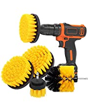Drill Brushes Power Scrubber Cleaning Brush, SONNLYH Drill Brush Attachment Set All Purpose Drill Scrub Brushes Kit for Grout, Floor, Automotive,Tile, Bathroom and Kitchen