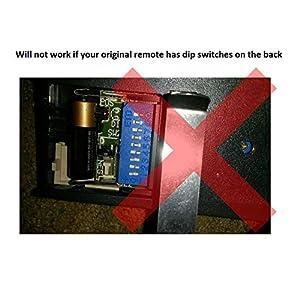 2 Replacement for Liftmaster 971LM Garage Door Remote Opener