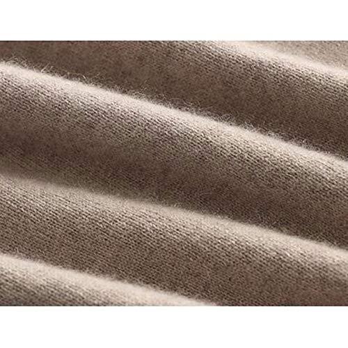 Maglione a Dzhxyxr V manica xxxl cashmere cammello lana lunga in per uomo a scollo rYPgrw
