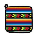Gear New Pot Holder, Mexican Colorful Pattern, GN4194