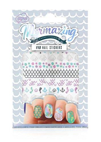 NPW-USA Mermaid 118 Piece Nail (Gem Nail Sticker)