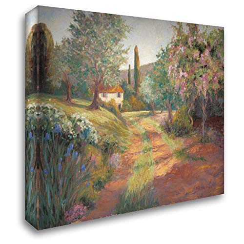 (Pepes Farm II 37x28 Gallery Wrapped Stretched Canvas Art by Fermanis, Pamela)