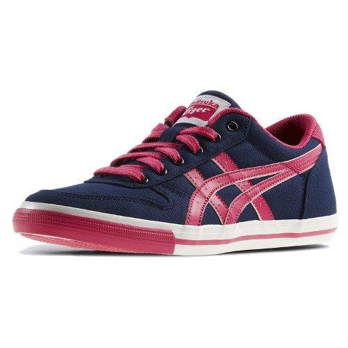Asics Aaron GS CV - Zapatillas para niño navy - pink