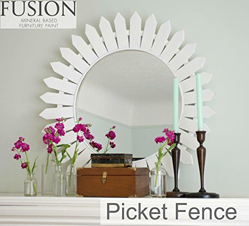 White Picket Fence House - Fusion Mineral Paint 500 ml Picket Fence
