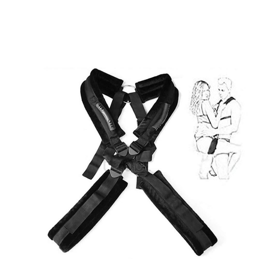 Yoga shoulder strap portable full-body cage swing is convenient for leg training, suitable for couples exercise
