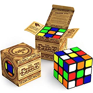 Buttery Smooth Turning Speed Cube: Turns Quicker and More Precise Than Original ; Super-Durable with Vivid Colors Cube 3x3 | Easy Turning and Smooth Play for Pro and Beginners | Perfect for Speed Cubing with Superior Corner Cutting Design