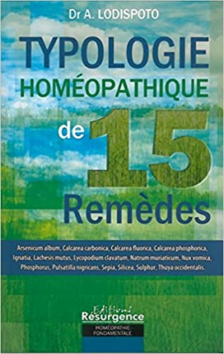 Lire un Typologie du remède homéopathique - 15 remèdes pdf, epub