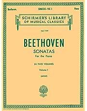 Sonatas - Volume 1: Schirmer Library of Classics Volume 1769 Piano Solo