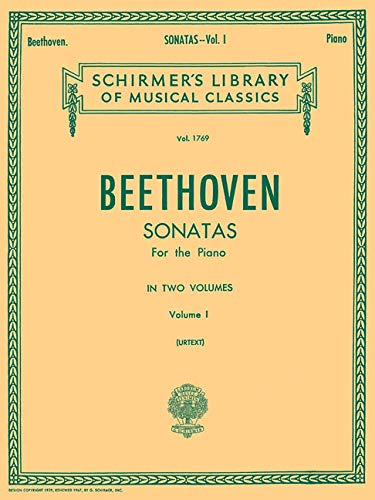 Sonatas - Volume 1: Schirmer Library of Classics Volume 1769 Piano Solo (Schirmer's Library of Musical Classics)