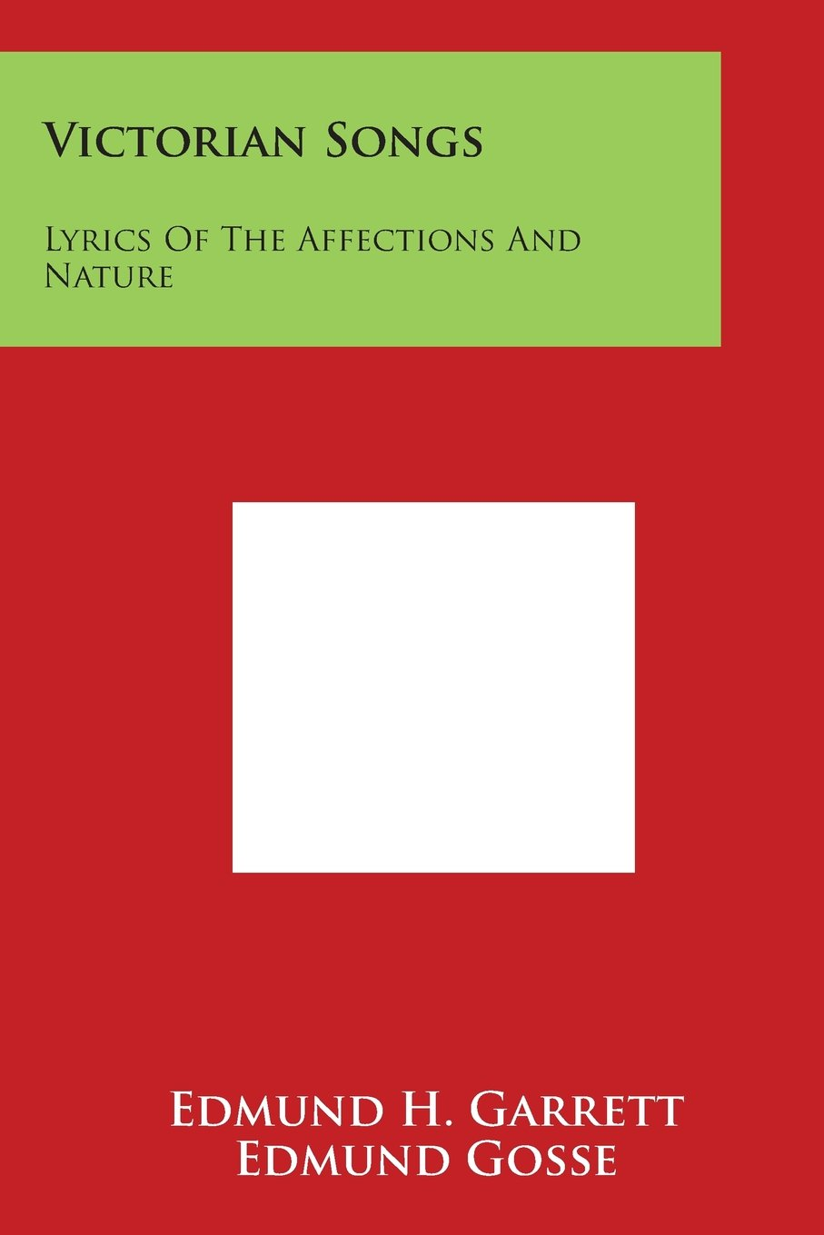 Victorian Songs: Lyrics of the Affections and Nature pdf