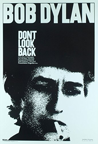 Don't Look Back (1967) Original One Sheet Poster (27x41) BOB DYLAN Film Directed by D.A. Pennebaker