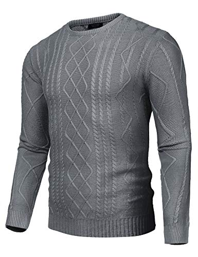 22e68db3fd2 COOFANDY Mens Long Sleeve Shawl Collar Knitted Slim Fit Button Cardigan  Sweaters
