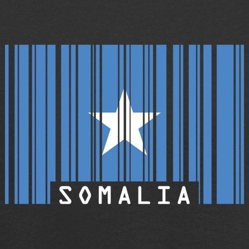 Somalia / Bundesrepublik Somalia Barcode Flagge - Herren T-Shirt - Schwarz - XXXL