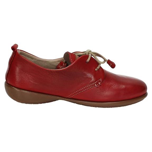 91c12c29 48 HORAS 910102/40 Blucher DE Piel Mujer Zapatos CORDÓN: Amazon.es: Zapatos  y complementos