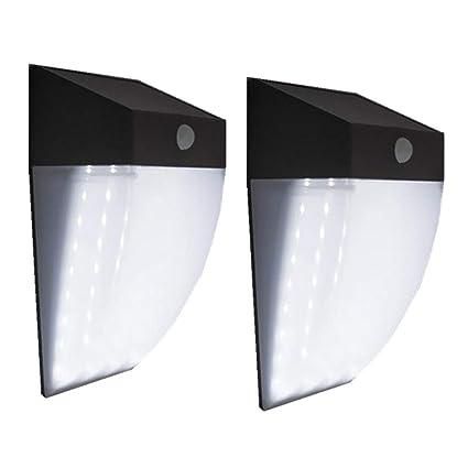 Luces Solares para Exteriores, Sensor De Movimiento PIR Inalámbrico A Prueba De Agua IP65 con
