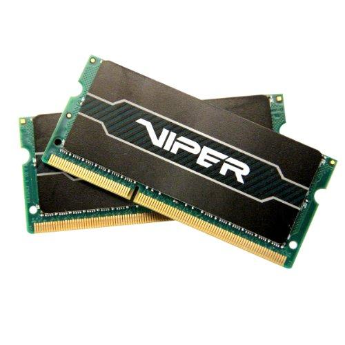 Patriot 8GB(2x4GB) Viper Series DDR3 1600 (PC3 12800) CL9/ Voltage 1.35V Laptop Memory - PV38G160LC9SK