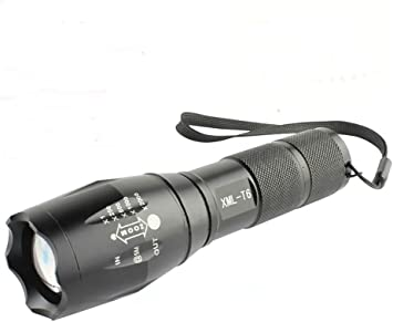 Torch Zoomable 10000  Lumens  XM L T6  more LED 18650 Torch UK SELLER FREE POST