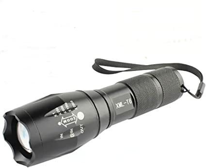 10000 Lumens 5Modes XML T6 Zoomable LED 18650 Flashlight Torch Lamp Light CREE