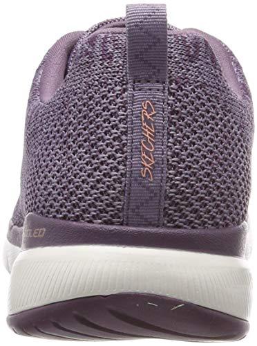 3 Plum 0 Skechers Appeal Flex plum Donna Viola Sneaker HwxARxEq
