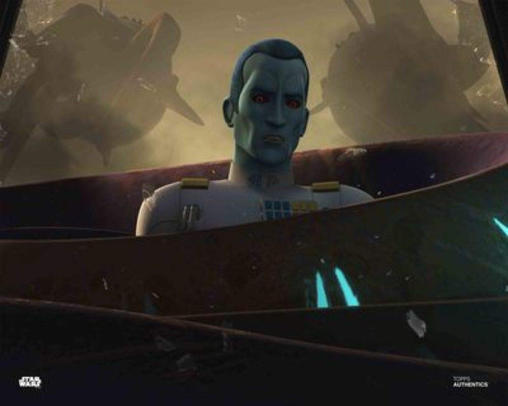 Star Wars Authentics: Lars Mikkelsen as Grand Admiral Thrawn in 'Star Wars Rebels 16x20' Official Photo