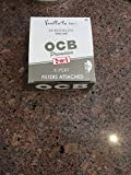 Ocb Premium Rolling Papers King Size X-Pert W/ Tips 32 Leaves Unflavored Pack Of 24