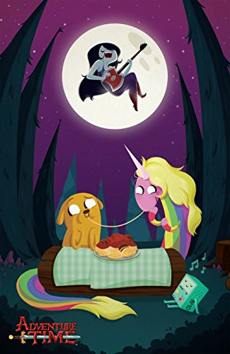 Adventure Time #33 Cover C - Genevieve FT 1:20 Retailer Incentive Virgin Variant - Includes an Over the (Grimm Season 1 Episode 2)