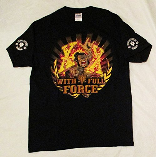 2013 Gary Holt's Worn Exodus Slayer With Full Force Artist Issued Concert T-Shirt