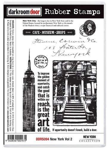 Darkroom Door Rubber New York Vol 2 Stamp Set